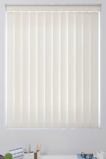 Tonal Stripe Cream Made To Measure Vertical Blind