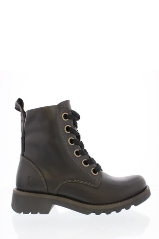 Fly London Lace-Up Boots
