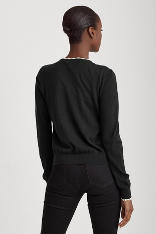 Lauren Ralph Lauren® Black Yamise Cardigan