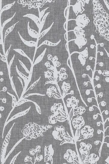 Mouse Grey Garrick Made To Measure Curtains