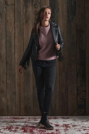 Superdry Mid Rise Slim Jeans