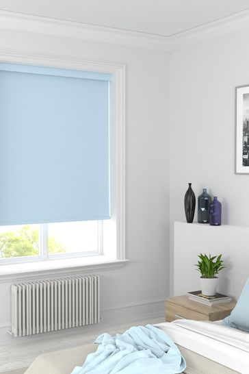 Syson Mineral Blue Made To Measure Roller Blind