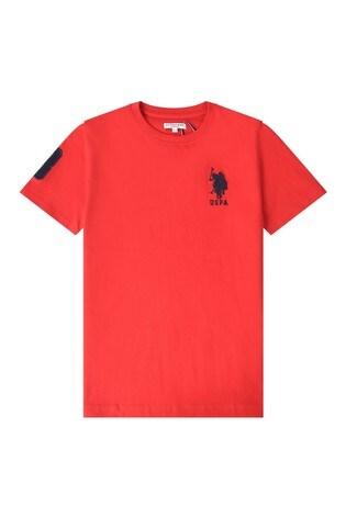 U.S. Polo Assn. Large Double Horseman T-Shirt