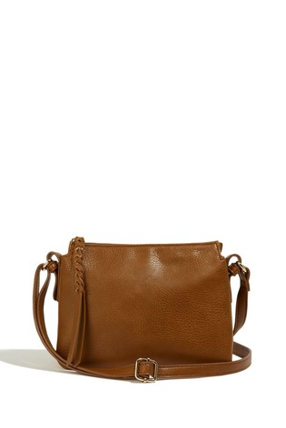 Oasis Tan Small Multi Pocket Bag