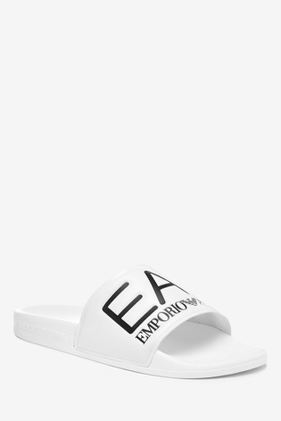 Emporio Armani EA7 Logo Sliders