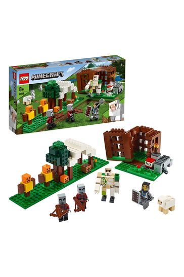 LEGO 21159 Minecraft The Pillager Outpost Building Set