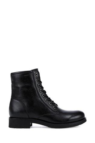 Geox Women's Rawelle Black Boots
