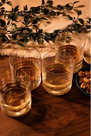 Set of 4 Mikasa Cheers Tumbler Glasses