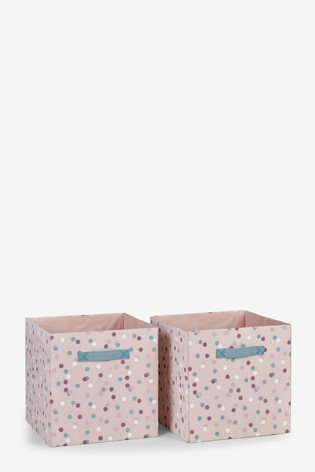 2 Pack Mono Spot Storage Cubes