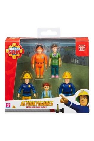 Fireman Sam Action Figures 5 Pack