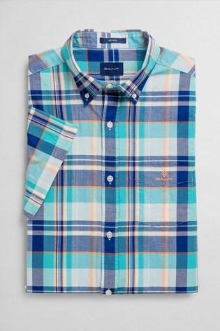 GANT Classic Madras Short Sleeve Shirt