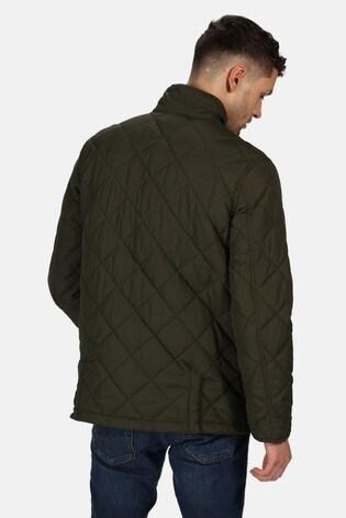 Regatta Green Locke Quilted Jacket
