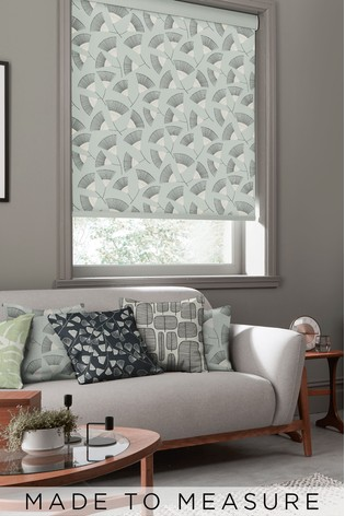 Persia Platinum Grey Made To Measure Roller Blind by MissPrint
