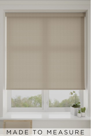 Sybelle Cashmere Natural Made To Measure Roller Blind