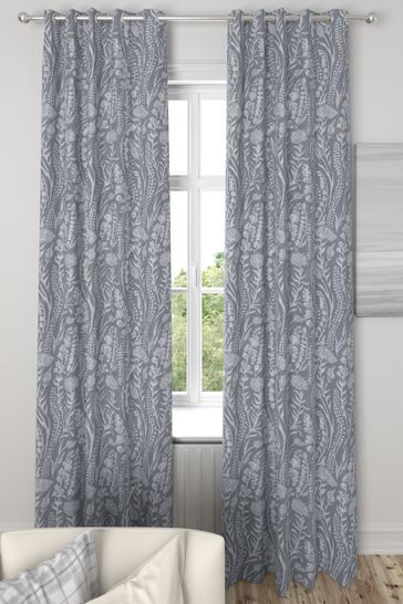 Garrick Silver Grey Made To Measure Curtains