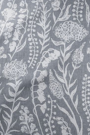Silver Grey Garrick Made To Measure Curtains