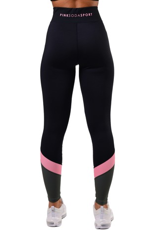 Pink Soda Ave Panel Leggings