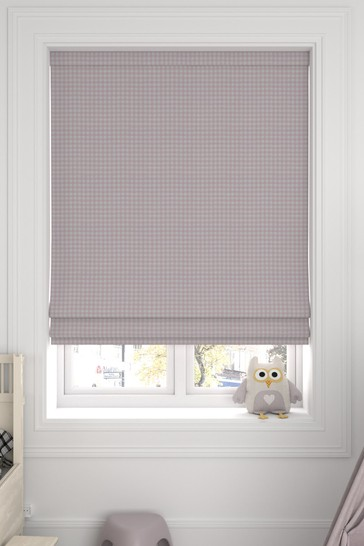 Melrose Candyfloss Pink Made To Measure Roman Blind