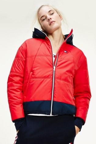 Tommy Hilfiger Red Insulation Jacket