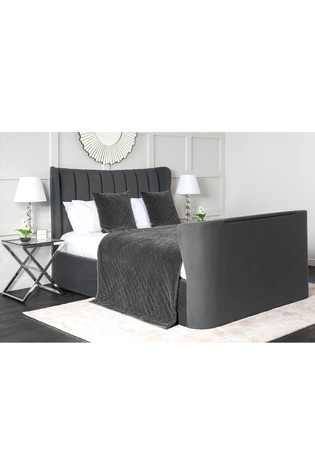 New York TV Bed Opulance Steel By TVBed