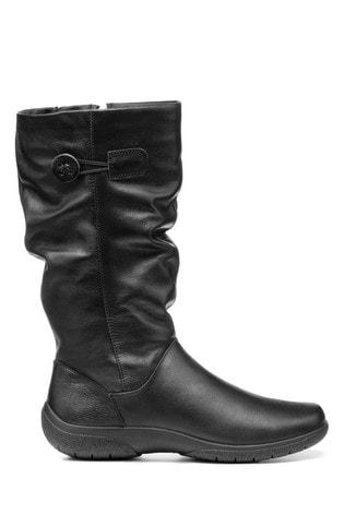 Hotter Derrymore Wide Fit Zip Fastening Calf Boots