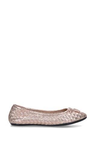 Carvela Comfort Luggage Bronze Shoes