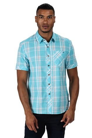 Regatta Blue Deakin III Check Shirt