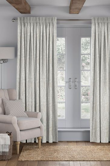 Garrick Stone Cream Made To Measure Curtains
