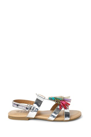 Hatley Silver Shine Sandals