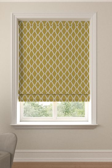 Taylor Sunflower Gold Made To Measure Roman Blind