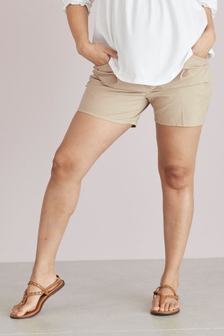 Sand Maternity Chino Shorts