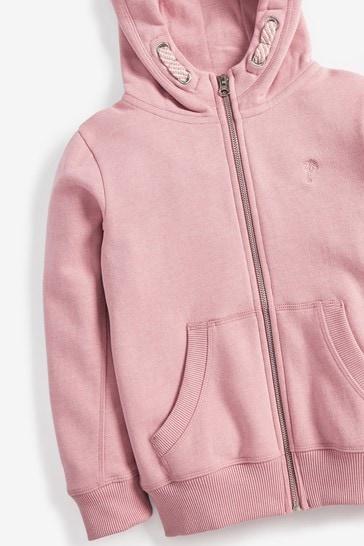 Pink Zip Through Hoody (3-16yrs)