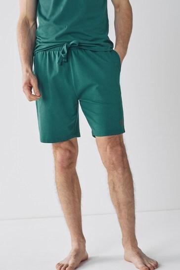 Teal Shorts Lightweight Loungewear