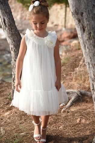 Angel's Face White Bernice Dress