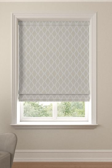 Taylor Oyster Natural Made To Measure Roman Blind