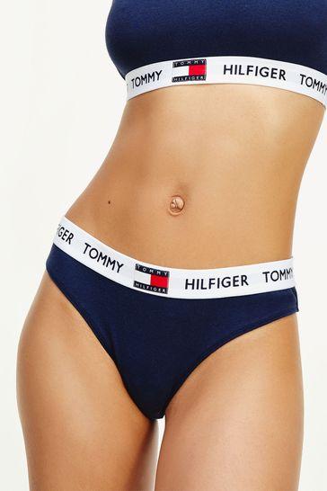 Tommy Hilfiger Blue 85 Cotton Bikini Underwear