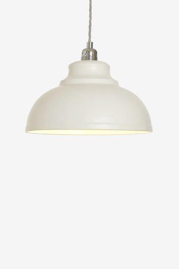 Cream Dixon Easy Fit Pendant Lamp Shade