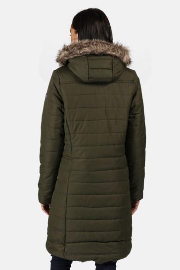 Regatta Green Fritha Insulated Jacket