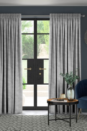 Slate Grey Darby Made To Measure Curtains
