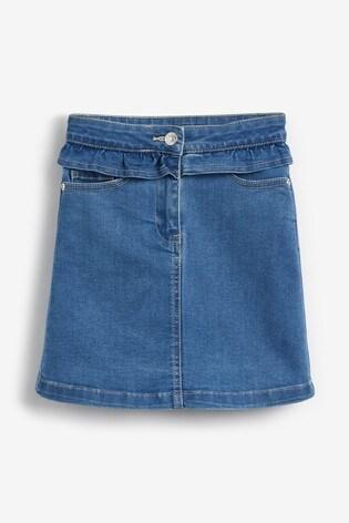 Blue Frill Skirt (3-16yrs)