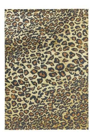 Quantam Leopard Rug by Asiatic Rugs