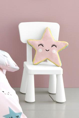 Cosatto Pink Happy Stars Cushion