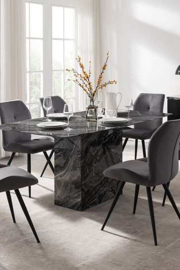 Indigo Dining Table by Alfrank