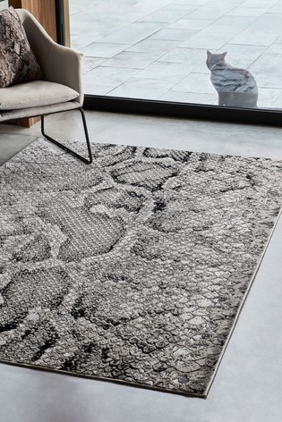 Quantam Snake Rug by Asiatic Rugs