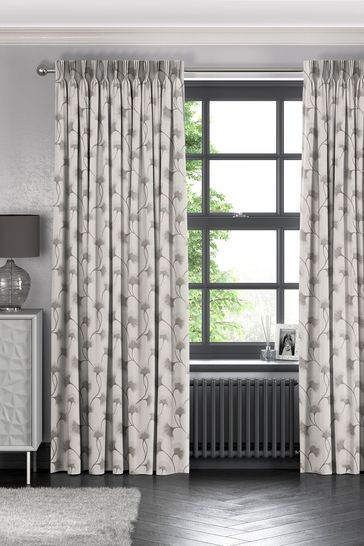 Darnley Sand Grey Made To Measure Curtains
