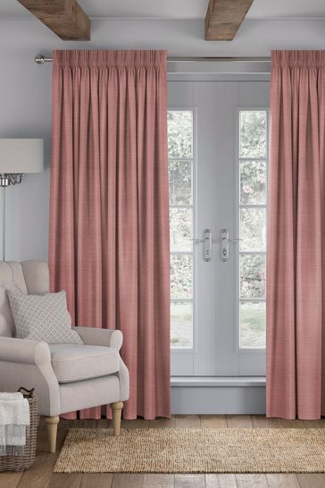 Blush Pink Jasper Made To Measure Curtains