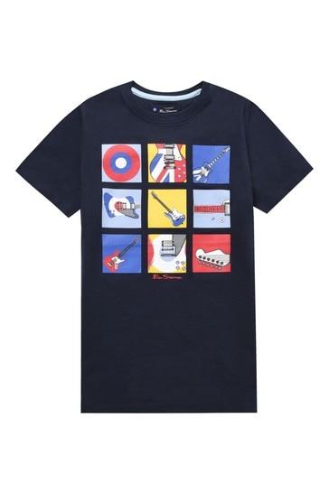 Ben Sherman Wall Of Sound T-Shirt