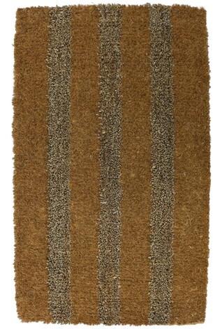 Natur-elle Clitheroe Stripe Coir Doormat