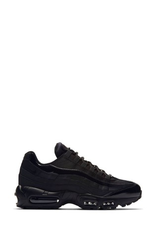 Nike Black Air Max 95 Trainers