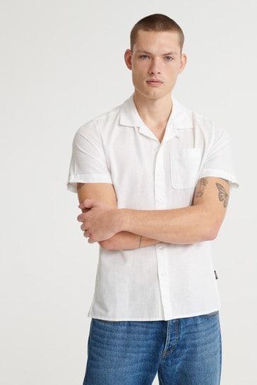 Superdry Edit Cabana Short Sleeved Shirt